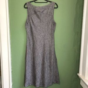 Horny Toad Gorgeous Gray Linen Dress Size L